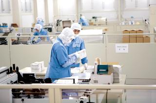 相互印刷株式会社 九州工場 内部1