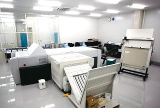 相互印刷株式会社 九州工場 内部3