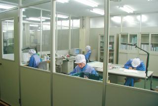 大淀工場内部